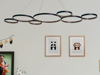 LED pendant lamp with dimmer ULTRA8 XS