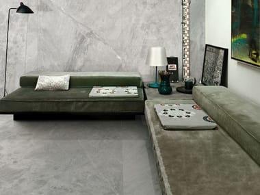 Pavimento/rivestimento effetto marmo ULTRA MARMI - GRIS DE SAVOIE