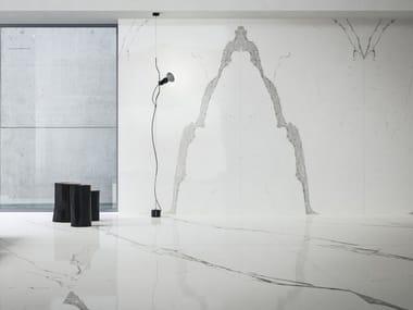 Pavimento/rivestimento in gres porcellanato effetto marmo ULTRA MARMI - STATUARIO ULTRA