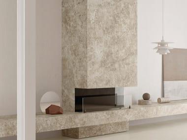 Pavimento/rivestimento in gres porcellanato effetto marmo ULTRA MARMI - TUNDRA GREY