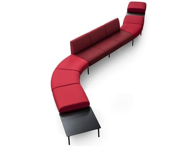 Sectional fabric sofa UMI