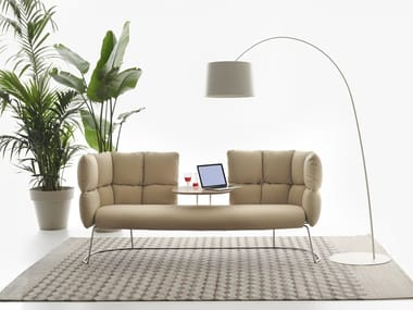 Sofa with integrated table UNDECIDED | Sofa