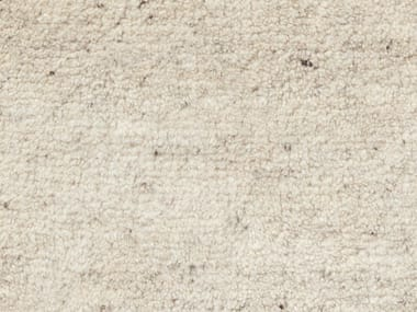 Tappeto a tinta unita fatto a mano in lana UNI