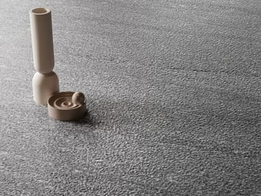 Pavimento/rivestimento in gres porcellanato effetto pietra per interni ed esterni UNIONSTONE LONDON GREY