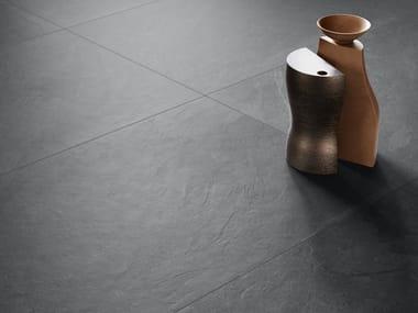 Pavimento/rivestimento in gres porcellanato effetto pietra per interni ed esterni UNIONSTONE MUSTANG