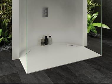 Piatto doccia semicircolare UNIQUE | Piatto doccia semicircolare
