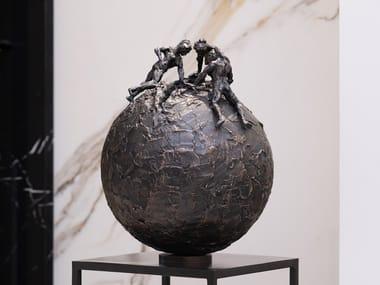 Scultura in bronzo UNIVERSE