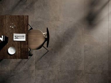 Pavimento/rivestimento in gres porcellanato effetto pietra UNIVERSE OLIVE