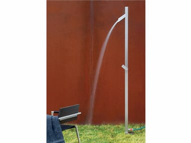 Stainless steel outdoor shower UNO