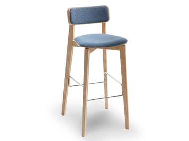 High upholstered barstool ARIANNA   Upholstered stool