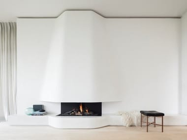 Gas 3-sided open fireplace URBAN | 3-sided fireplace
