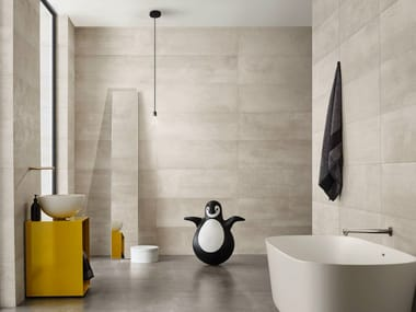 White-paste wall tiles URBAN GREY