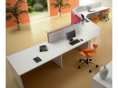Reception Per Ufficio : Banchi reception per ufficio ufficio archiproducts