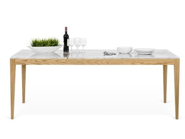Carrara marble dining table UTILE