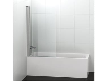 Glass bathtub wall panel CONNECT 2 - V1