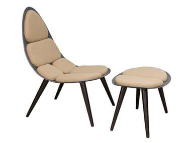 Resin easy chair VADIM