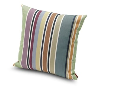 Striped outdoor cushion VALDEMORO | Square cushion