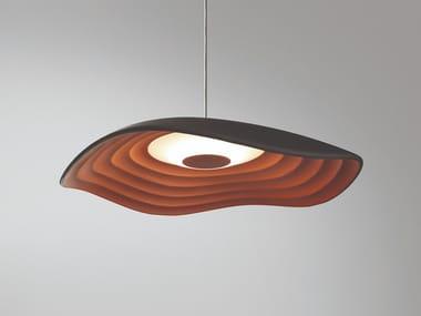 LED aluminium pendant lamp VALENTINA S/24