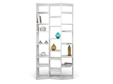 Open freestanding shelving unit VALSA