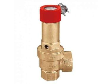 Тепловой агрегат и горелка 527 | Valvola di sicurezza, taratura standard