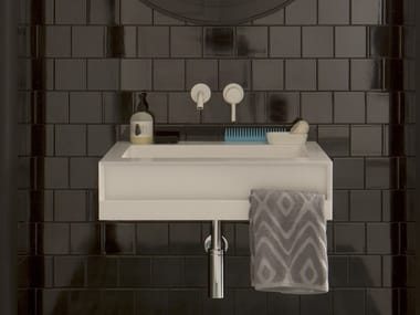 Washbasin with towel rail SAINT TROPEZ | Washbasin