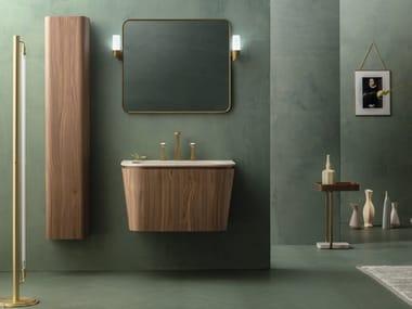 Mobile lavabo singolo sospeso SUEDE   Mobile lavabo sospeso