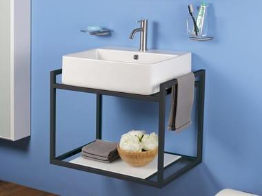 Single wall-mounted vanity unit WATSON | Vanity unit