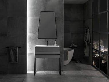 Single vanity unit PURE LINE | Vanity unit