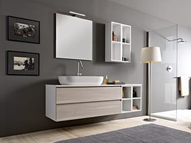 Sectional vanity unit PHORMA | Vanity unit