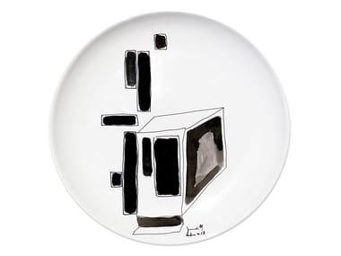 Ceramic dinner plate VARIATION I