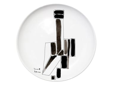 Ceramic dinner plate VARIATION IV