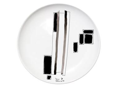 Ceramic dinner plate VARIATION VI