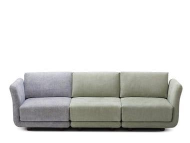 Canapé composable 3 places en tissu VARIO | Canapé 3 places