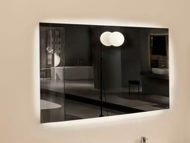 Rectangular wall-mounted mirror VARIO