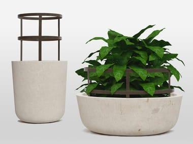 Vaso da giardino in pietra naturale PIRO | Vaso da giardino