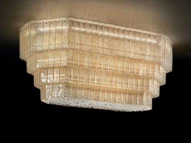 Lampada da soffitto incandescente in graniglia GLASS VE 1147 PL16
