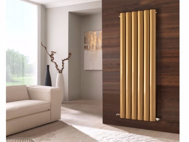 Vertical wall-mounted radiator VELA | Vertical radiator