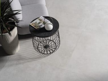 Wall/floor tiles with concrete effect VELA SMOKED