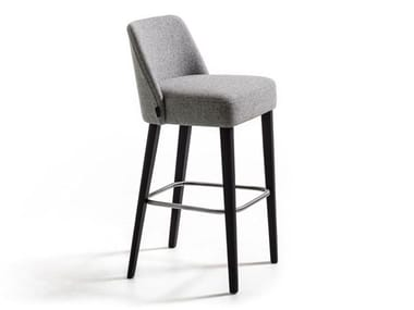 High fabric stool VELOUR | Stool