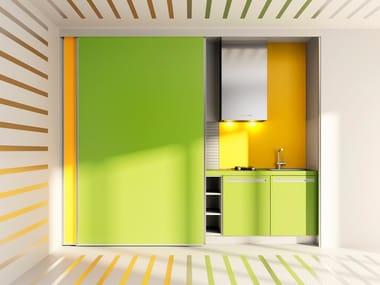 Hideaway Linear HPL Kitchen VELVE | Hideaway Kitchen