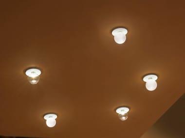Lampada da soffitto a LED in vetro borosilicato VENERE | Lampada da soffitto
