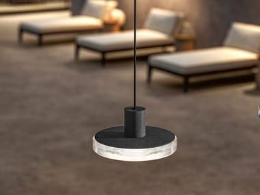 LED aluminium pendant lamp VENEXIA | Outdoor pendant lamp