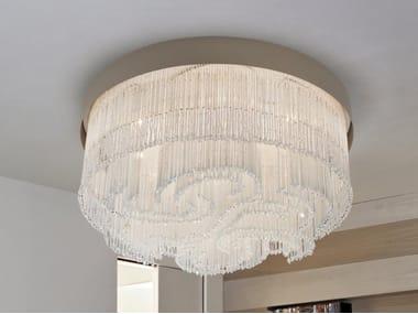Lampada da soffitto con cristalli VENEZIA 4800 | Lampada da soffitto