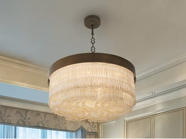 Pendant lamp with crystals VENEZIA 4800
