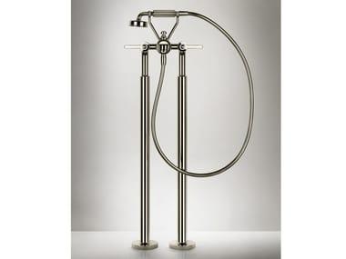 2 hole metal bathtub mixer VENTI20 | Floor standing bathtub mixer