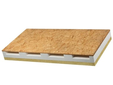 Wood-product sound insulation panel VENTIL PHO