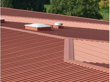 Metal ventilated roof system VENTILCOVER