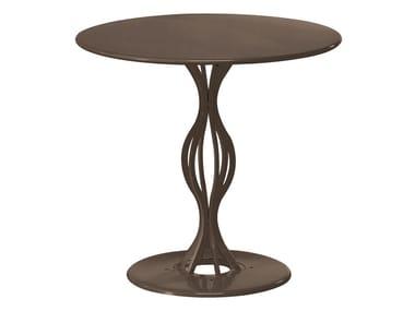 Tavolo da giardino rotondo in acciaio VERA | Tavolo rotondo