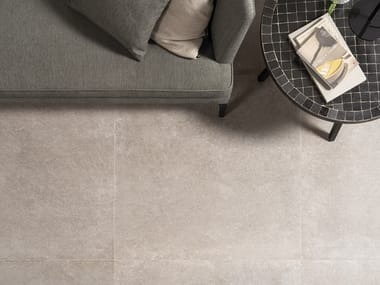 Wall/floor tiles with stone effect VERBIER SILVER
