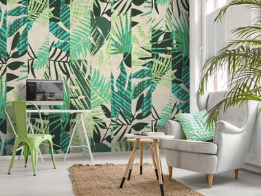 Non-woven paper wallpaper VERDE